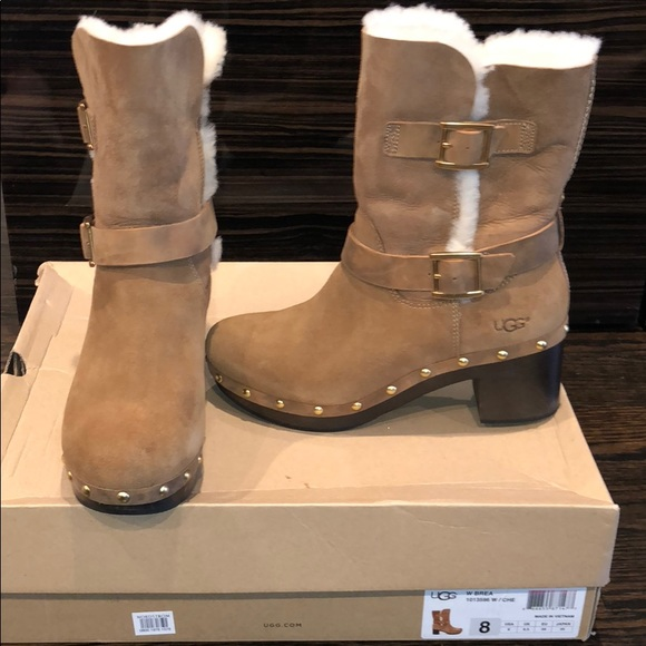 8220c906b23 Ugg brea boots. New with box sz8 NWT